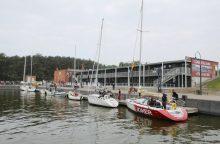 Smiltynės jachtklubas žada sutvarkyti pakrantę
