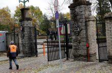 Pakeitė Joniškės kapinių vartus