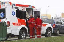 Klaipėdoje per avariją sužeistas šaligatviu vežimėlyje vežtas vaikas