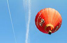 Žemaičiui nepatiko oro balionas