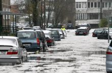 Kviečia kreiptis nukentėjusius nuo potvynio
