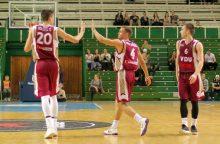 VDU krepšininkai pergalingai žygiuoja Europos universitetų žaidynėse