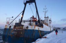 Latvių krabų žvejybos atgarsiai Klaipėdoje