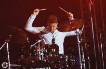 Jaunasis būgnų talentas trokšta studijuoti Amsterdamo muzikos akademijoje
