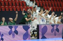 Lietuvos 20–mečių krepšinio rinktinė – Europos pirmenybių finale