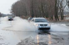 Kelias į Rusnę – nebepravažiuojamas lengvaisiais automobiliais