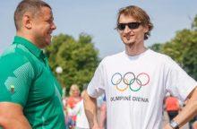 Olimpiečiai ragins išmėginti įvairias sporto šakas
