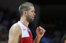 """Krepšininko M. Kalniečio indėlis į """"Asvel"""" pergalę – 19 taškų"""