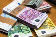 Valstybės valdomų įmonių pelnas pirmąjį pusmetį augo 19 proc.