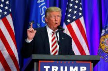 CŽV: Rusija kišosi į JAV rinkimus, kad padėtų laimėti D. Trumpui