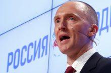 CNN: Rusija bandė pasinaudoti D. Trumpo patarėjais, kad paveiktų rinkimus