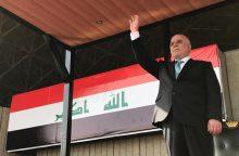 """Irakas pradėjo mūšį už svarbų """"Islamo valstybės"""" bastioną"""
