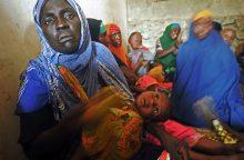 Lietuva skyrė 10 tūkst. eurų badaujančiam Somaliui