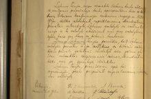 Vasario 16-osios aktą radęs profesorius: reikėjo ilgai prašyti, kad man jį atneštų