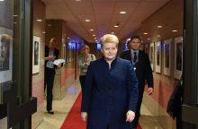"""D. Grybauskaitė: """"Brexit"""" idėja brendo ne vieną dešimtmetį"""