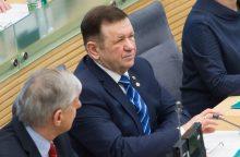 Etikos sargai: K. Pūko apkaltos komisija nepadarė pažeidimų