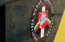 Vilniaus rajone pavogta pasieniečių kamera