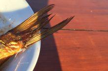Jūra dvelkiantiems pietums – šefo siūlomas užkandis iš žuvies