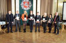 Apdovanoti geriausi Kauno kriminalistai