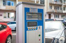 Naujovė Kaune: elektroniniai parkavimo leidimai – neišėjus iš namų