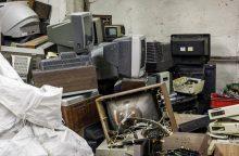 Elektronikos tvarkymas šiemet brangs