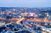 Vilniaus šviesų festivalis skelbia 27 instaliacijų žemėlapį