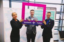 Iš Kauno į Suomiją startuoja naujas skrydis