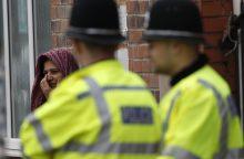 Anglijos policija tiria išpuolius prieš penkias mečetes Birmingame