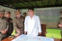 Seulas ir Tokijas bandys atremti Šiaurės Korėjos grėsmes