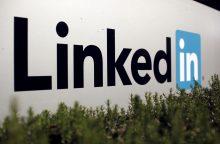 """Rusijoje ketinama uždrausti """"LinkedIn"""""""