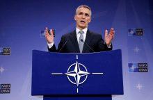 NATO vadovas ramina Baltijos šalis: svarbiausia – atgrasymas