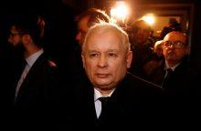 Lenkijos valdančiųjų lyderiui – kritika dėl pareiškimo apie žmoniškus ponus