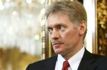 Kremlius perspėja JAV neskelbti Rusijai naujų sankcijų