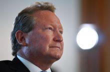 Neįtikėtina: Australijos magnatas paaukojo beveik 267 mln. eurų