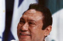 Mirė buvęs Panamos diktatorius