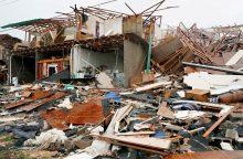 Estija padės nuo uragano nukentėjusiam Teksasui