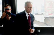 Nuo pareigų nušalintas Latvijos banko vadovas neigia kaltinimus