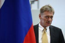 Kremlius: pareiškimai apie Rusijos kišimąsi į Prancūzijos reikalus – šmeižtas