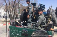 Kabule per sprogimą žuvo mažiausiai du žmonės