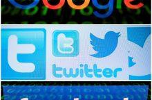 D. Trumpas kaltina technologijų milžines šališkumu demokratų naudai