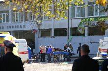 Krymo politechnikos koledže nugriaudėjo sprogimas, žuvo 18 žmonių <span style=color:red;>(papildyta)</span>