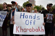 Kalnų Karabache – neteisėtas referendumas dėl prezidento galių