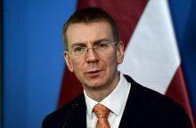 Latvijos ministras: nesvarstome įstatymų riboti elektros importą iš Astravo AE