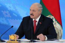 A. Lukašenka nori sveiko baltarusiško nacionalizmo