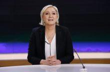 M. Le Pen laikinai nusišalino nuo vadovavimo savo partijai