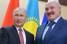 Baltarusijos ir Kinijos lyderiai pasveikino V. Putiną su pergale