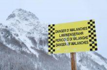 Perspėja į Austriją slidinėti vykstančius lietuvius: gresia didelis pavojus