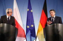 Lenkija nori užglaistyti ginčą dėl Vokietijos karo reparacijų