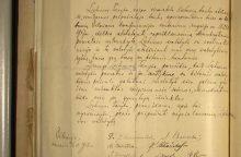 Lietuvos diplomatai aiškinasi rasto Vasario 16-osios akto teisinį statusą