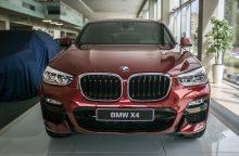 """Gerokai atsinaujinęs """"BMW X4"""" atvyko į Lietuvą"""